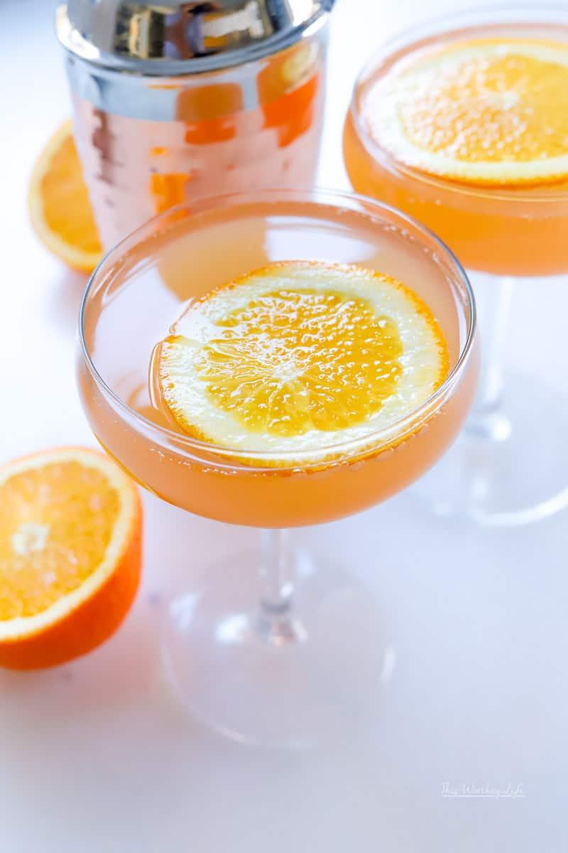 Самбука апельсиновым соком