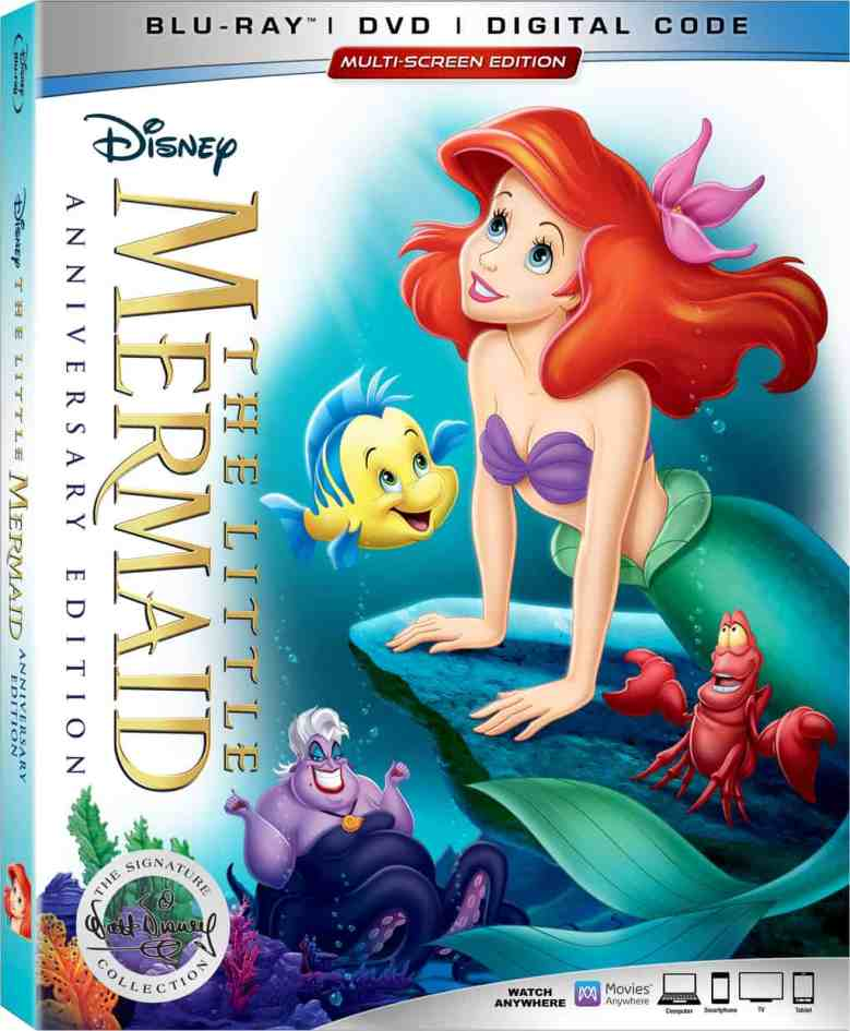 The Little Mermaid DVD release