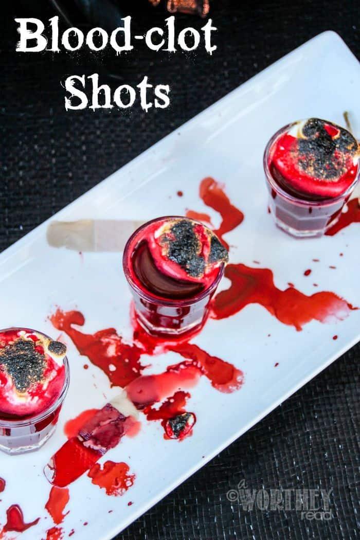 Blood-Clot Shots | Halloween Drink