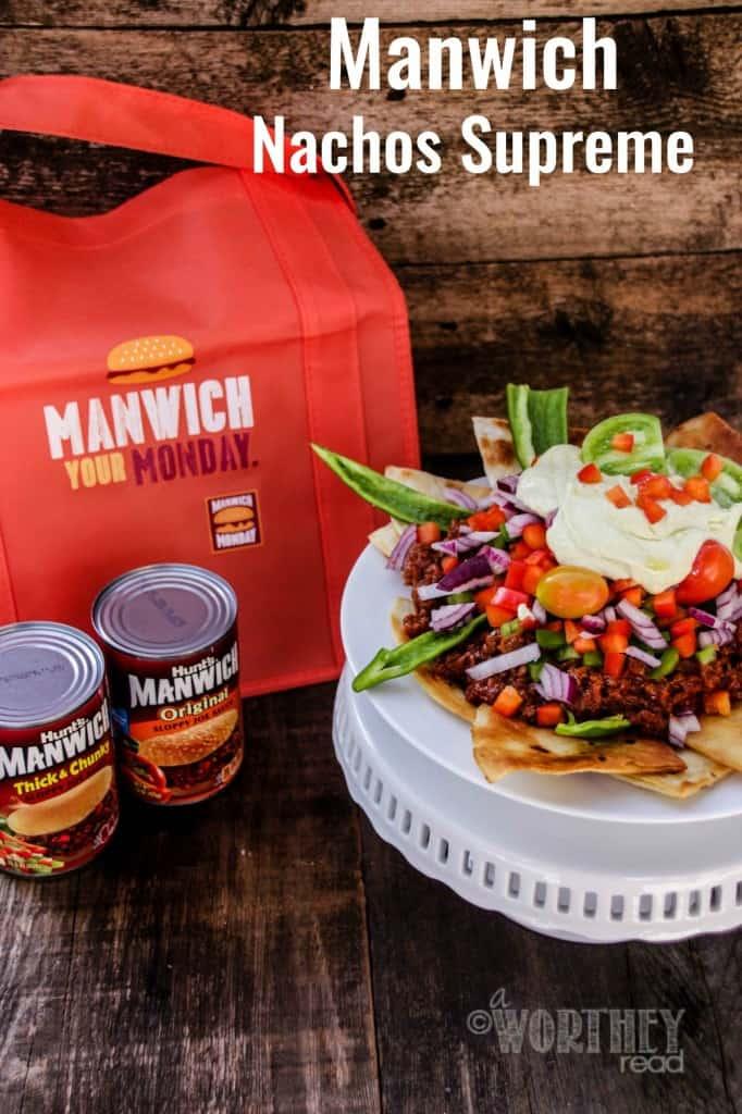 Manwich Nachos Supreme With Homemade Tortillas