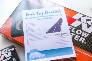 Things you should know before going on a road trip printable