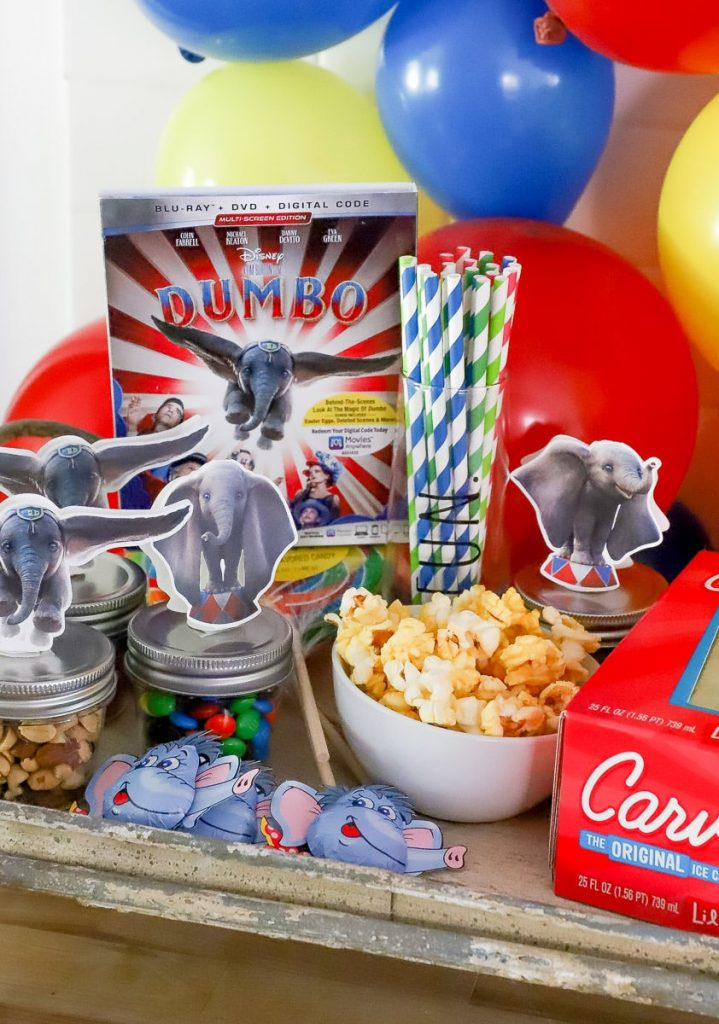 how to host a Dumbo movie party