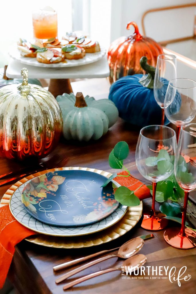 Fall Decor For Your Table