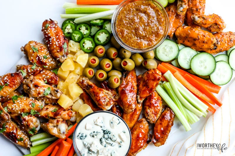 how to make a game day platter