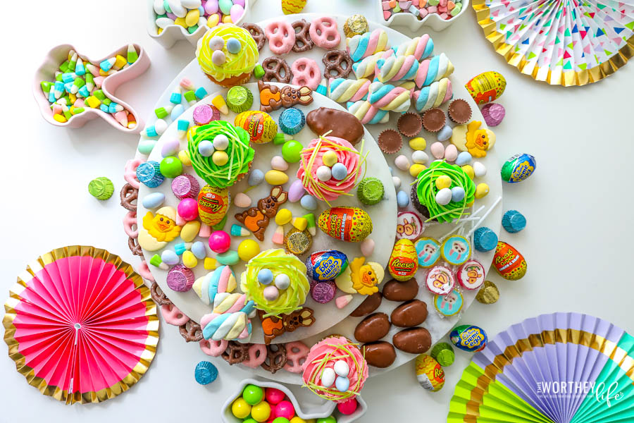 Ultimate Easter Candy Board