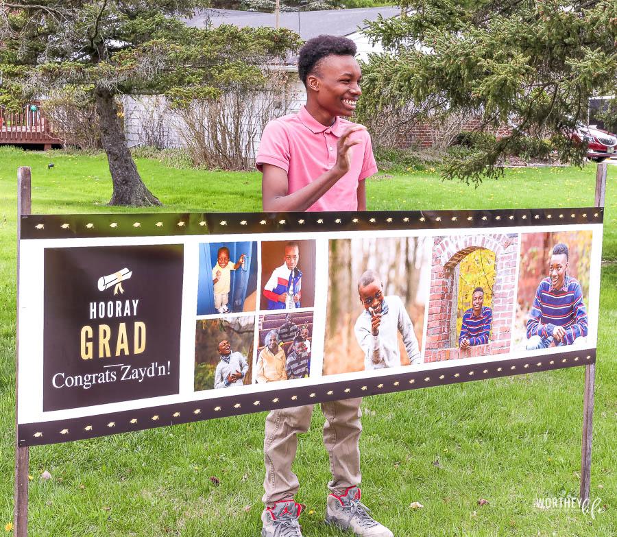 Plan a graduation parade