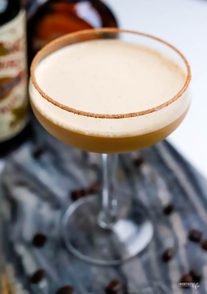 The Whitetail: Jamaican Rum Coffee Cocktail