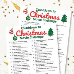 Christmas Countdown Movie Challenge