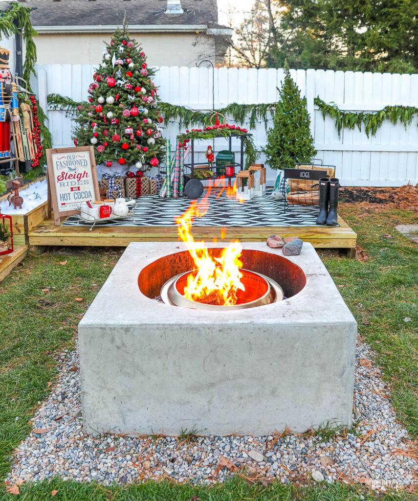 Christmas Patio Decor ideas