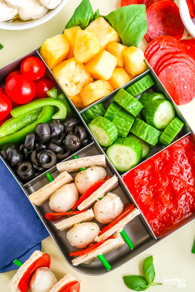 foods to put in your child's lunch bento box