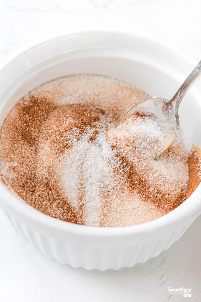 Cinnamon-Sugar Coating