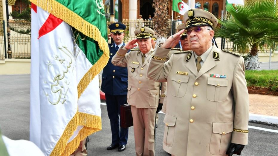 قايد صالح في زيارة عمل وتفتيش للناحية العسكرية الرابعة