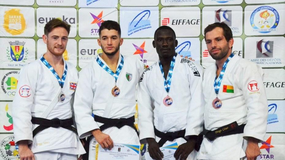 13 ميدالية للجيدو الجزائري في دورة السنغال