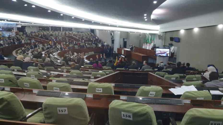 المجلس الشعبي الوطني يمرر قانون المالية 2020