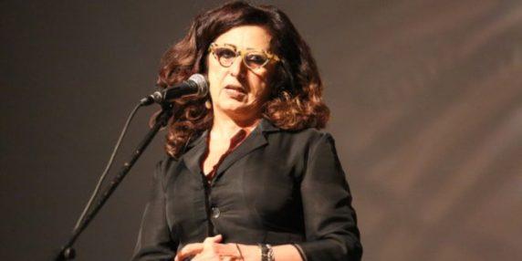 ماريان خوري أثناء تقديمها للفيلم
