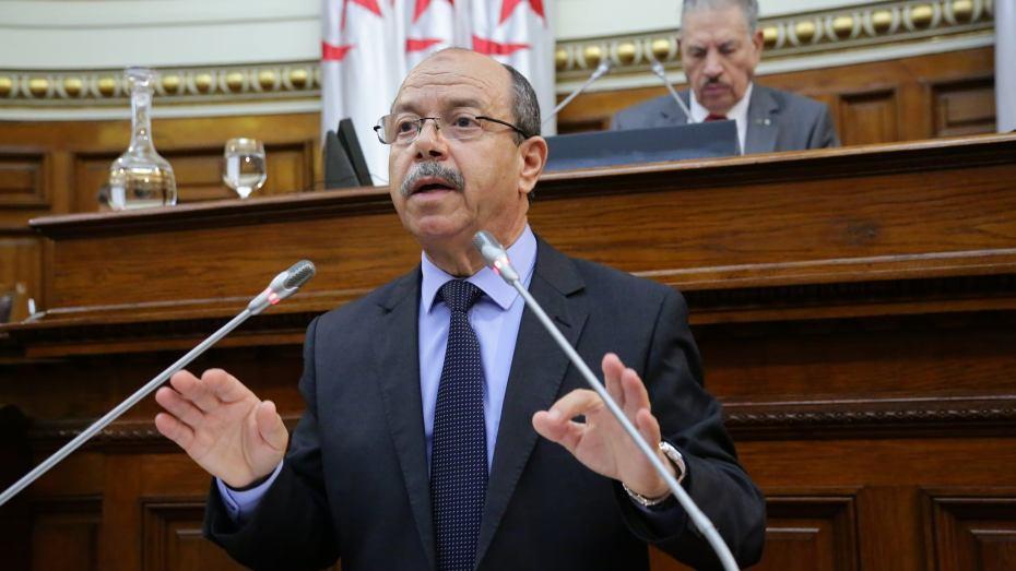 وزير العدل حافظ الاختام بلقاسم زغماتي