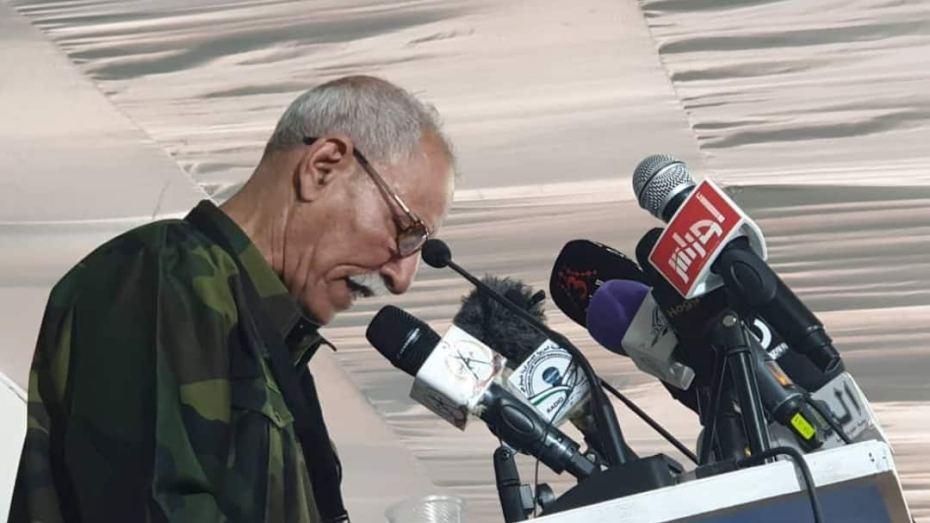 البوليساريو تتهم المغرب بعرقلة تعيين مبعوث أممي للصحراء الغربيةابراهيم غالي