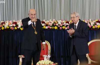 الجزائر: تبون يؤدي اليمين الدستورية لمباشرة مهامه رئيسا للبلاد