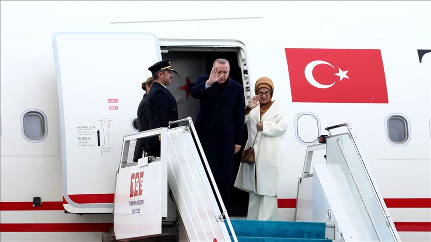 أردوغان يزور الجزائر على رأس وفد رفيع