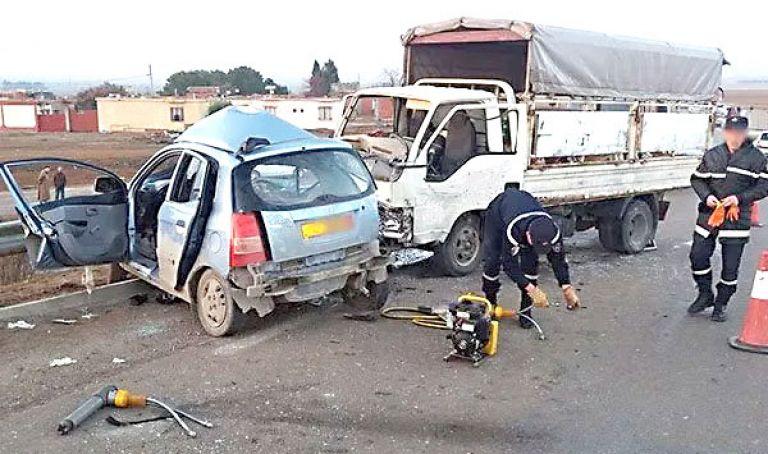 قتيل و6 جرحى في حادث مرور جديد
