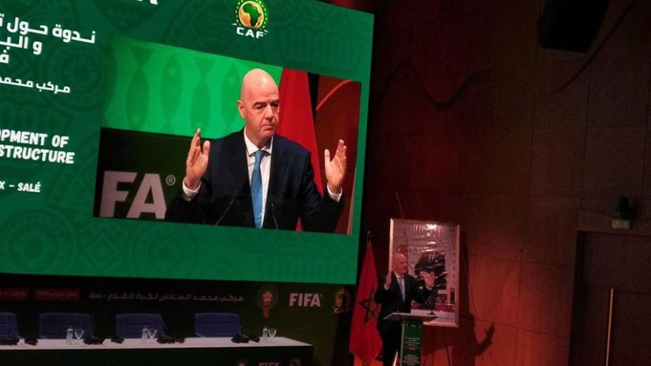 """رئيس """"الفيفا"""" يقترح تغيير موعد """"الكان"""""""