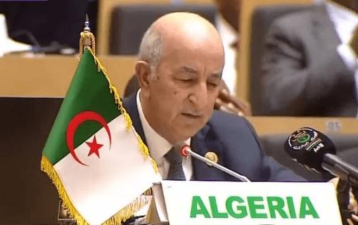 تبون الاتحاد الافريقي