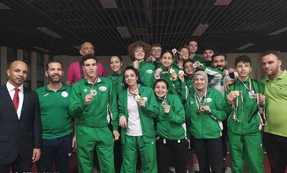 الجزائر تُحقّق 14 ميدالية في البطولة الإفريقية للمبارزة