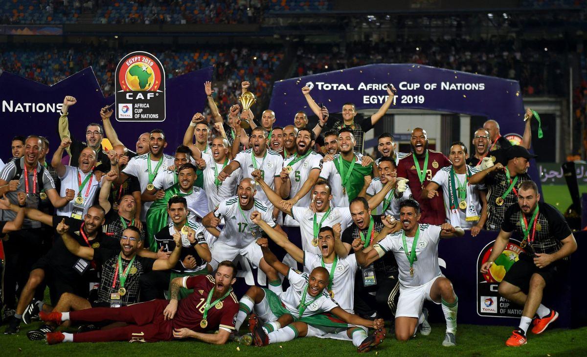 الخضر أبطال إفريقيا 2019