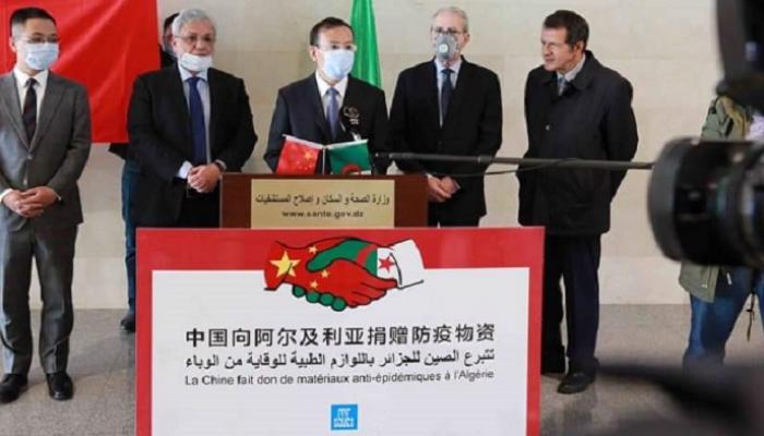 سفير الصين مساعدات