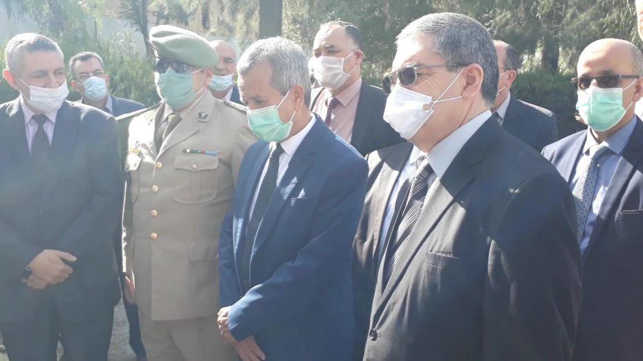 وزير الصحة ووالي الشلف