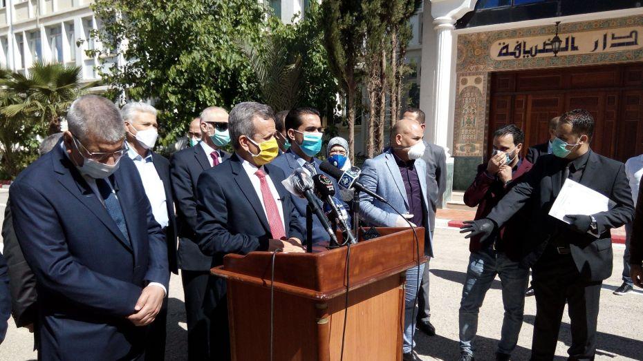 وزير الصحة قي الشلف