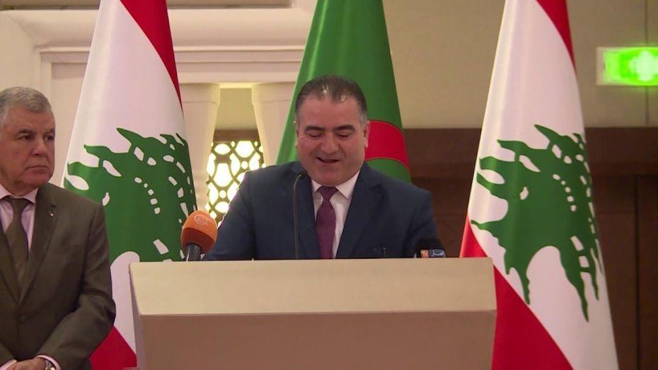 سفير لبنان لدى الجزائر يشكر الجزائر