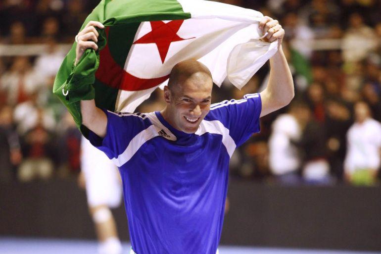 بالصور| زيدان وللمرة الثانية يتبرع للجزائر من أجل مُكافحة كورونا