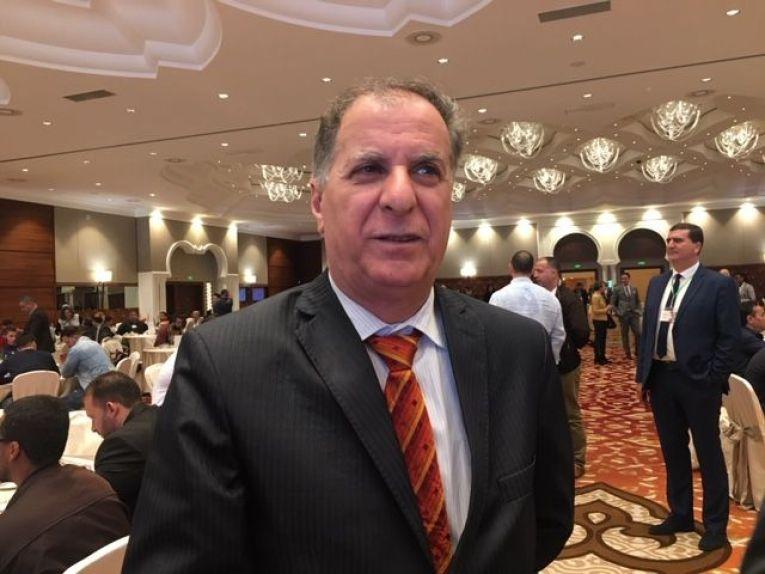 رابح بوعريفي رئيس الاتحادية الجزائرية لكرة السلة