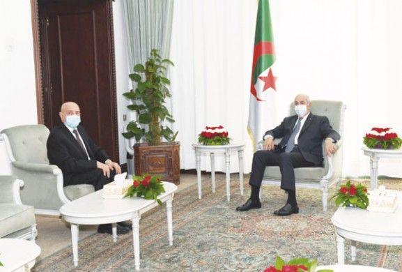 عقيلة صالح في الجزائر غدا