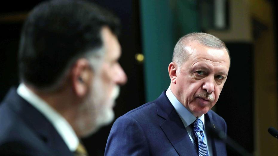 أردوغان يعلق على الاستقالة السراج
