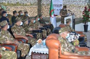 افتتاح سنة التحضير القتالي تحت إشراف قائد الناحية العسكرية الأولى علي سيدان