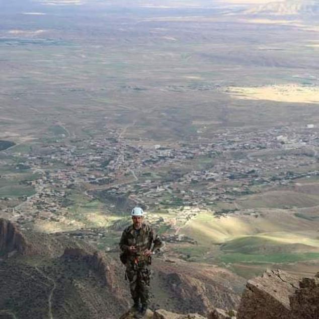 صورة قوراري من قمة جبل بوطالب