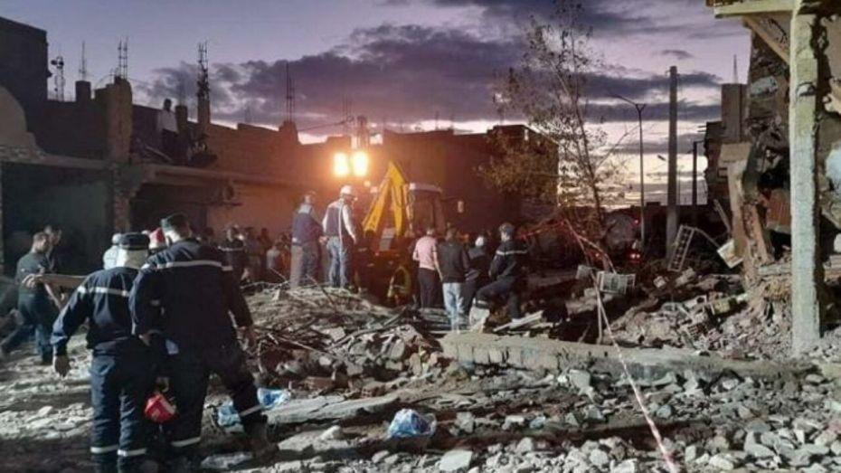 انفجار الغاز بالبيض.. وفاة الضحية السادسة