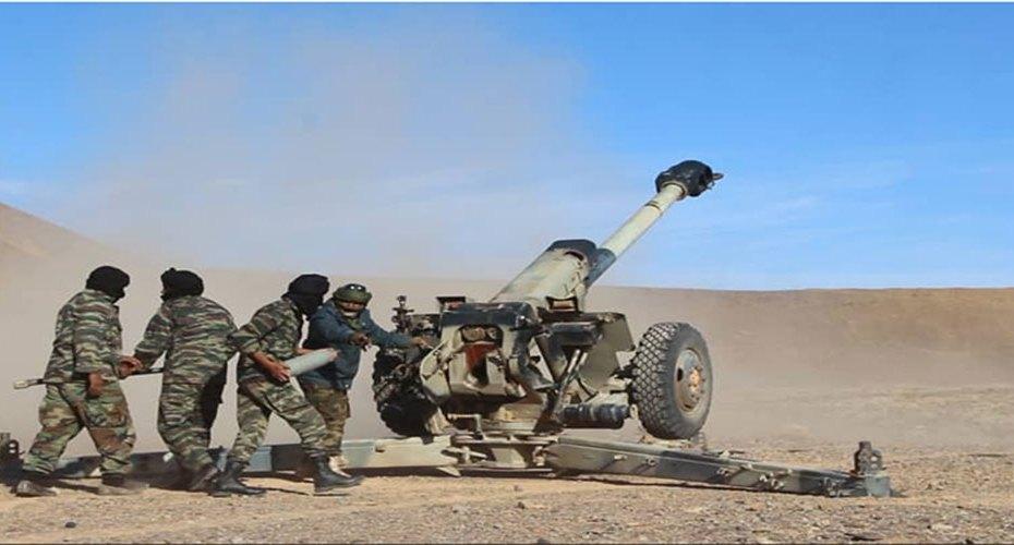 الجيش الصحراوي يواصل هجماته على القوات المغربية في الكركرات