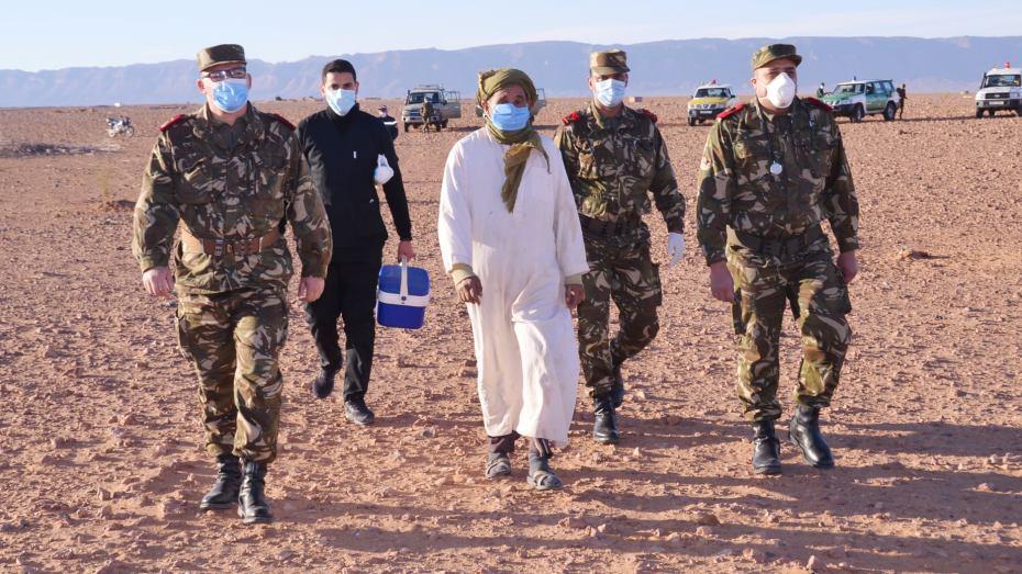الجيش يطلق حملات للتلقيح ضد الأنفلونزا والكشف عن كورونا