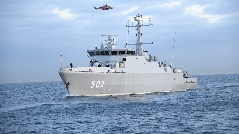 الأسطول البحري الجزائري يتعزز بكاسحة ألغام جديدة