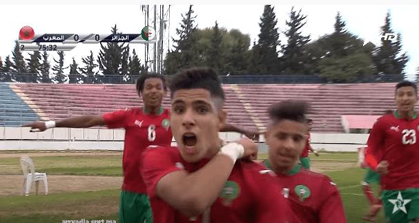 الجزائر تتسبب في معاقبة مسجل هدف المنتخب المغربي