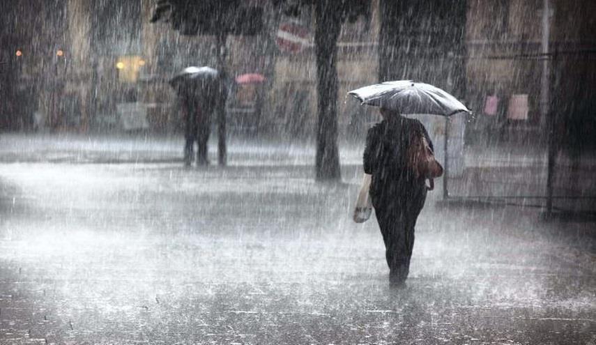 تساقط أمطار رعدية غزيرة في 5 ولايات