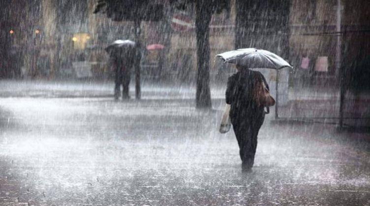 أمطار غزيرة وبرَد على ولايات غربية ووسطى