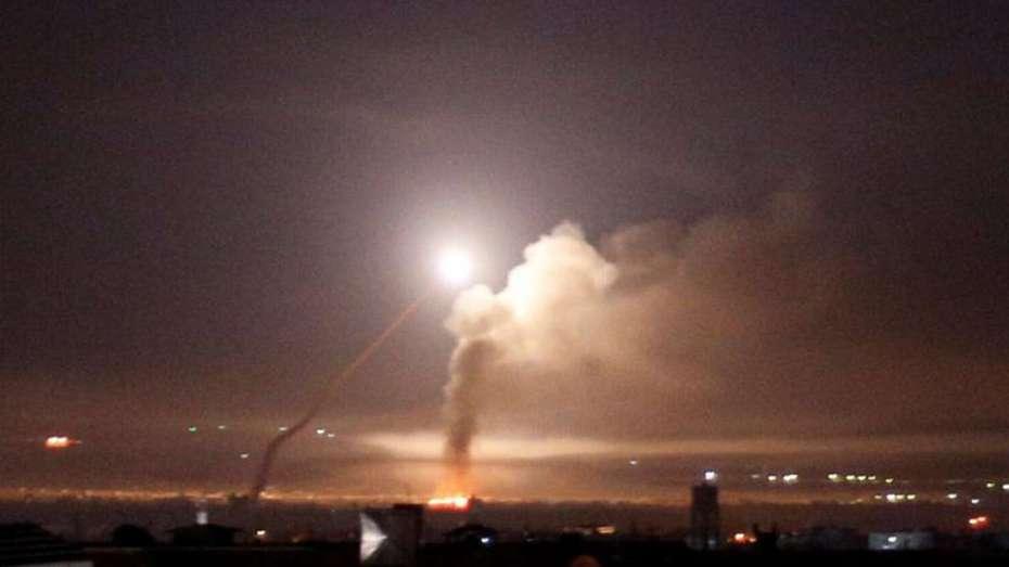 الطيران الصهيوني يقصف مواقع في سوريا