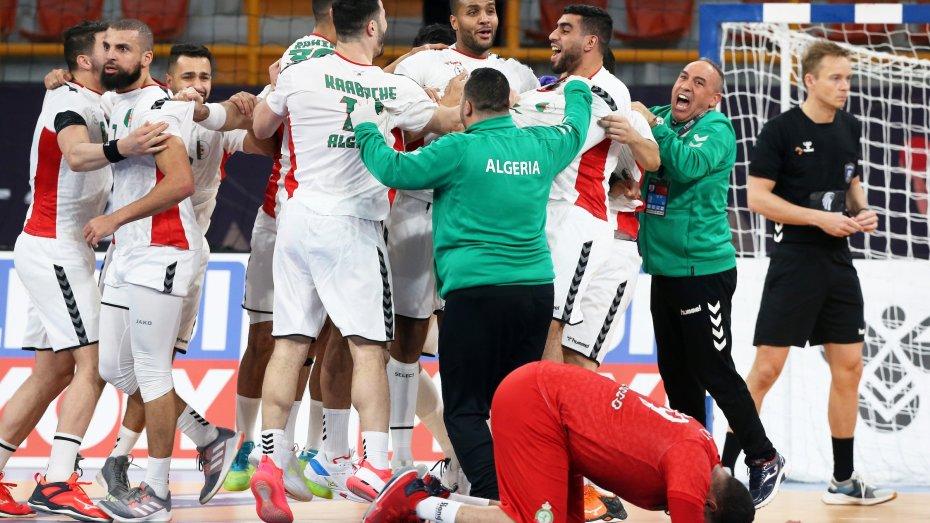 الجزائر تتحدى آيسلندا في مونديال اليد