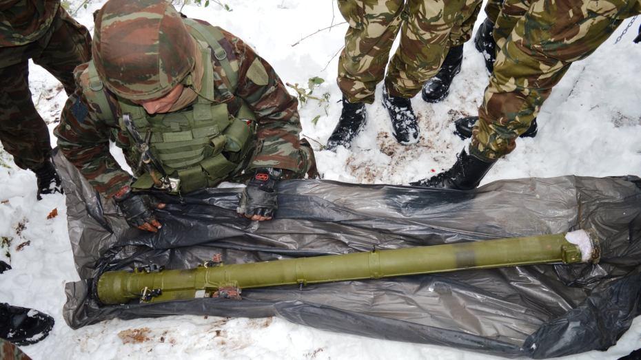 الجيش يحجز صواريخ مضادة للطائرات