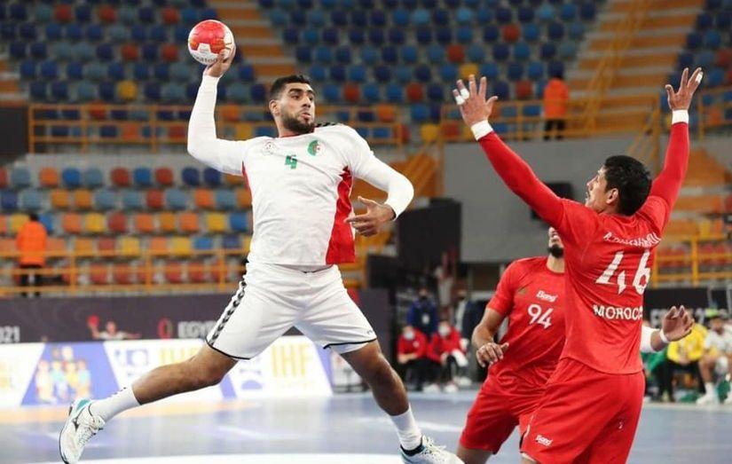 الجزائر تفوز على المغرب في مونديال كرة اليد