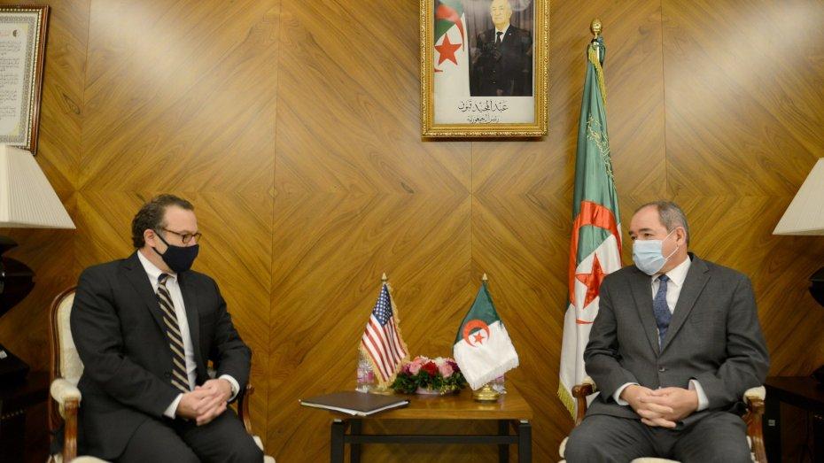 بوقادوم.. إجراء تقييم شامل وصريح للعلاقات الثنائية بين الجزائر وأمريكا